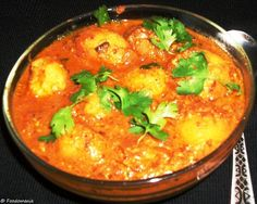 Dum Aloo | Baby Potatoes in a Yogurt Gravy - Foodomania