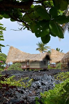 Kona Village, Big Island via flickr