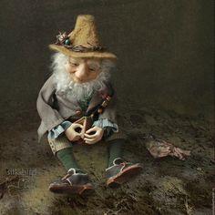 Купить Лесной эльф мистер Гринли в интернет магазине на Ярмарке Мастеров