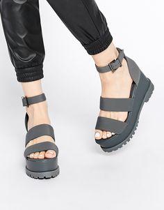 ASOS TEASER Flatform Sandals