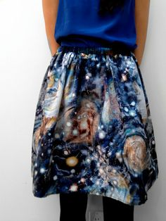 space skirt - from real hubble images