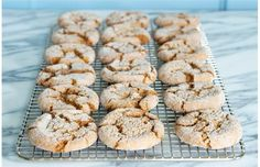 Duchess Bakery ginger cookies // Sadly, I found this recipe pretty disappointing! The cookies are made with oil instead of butter and I feel like that really makes a big difference in the flavour. The chunks of candied ginger aren't super appealing in the middle of the cookie either.
