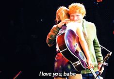 HOLY FLIPPING COW!!! DID ED AND TAYLOR JUST HIDE SWEERAN FROM US WHILE THEY WERE ON THE RED TOUR OR DO BRITISH GUYS CALL EVERYONE BABE?!