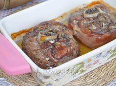 Фото стейка из индейки с косточкой в духовке
