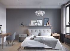 The popularity of basic neutral shades like grey, white, and black is so popular due to the massive use of minimalist decorating style. They have a good ability to make...