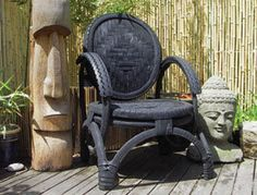 Recycled tire chair......