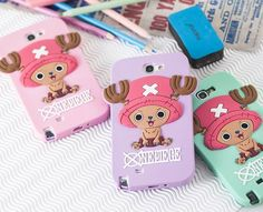 Featuring Tony Tony Chopper, one of the main character of One Piece, the famous Japanese manga, this 3D silicon case for Galaxy S4 cover the back of your phone and protect it against any shock.