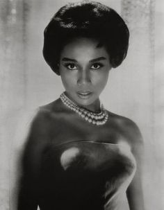 """Diahann Carroll - The Bronx-born actress rose to stardom in the operatic films """"Carmen Jones"""" and """"Porgy and Bess"""" in the '50s, but her most memorable aria resounded on prime-time TV when she became the first African-American woman to star in a sitcom, """"Julia,"""" in 1968."""