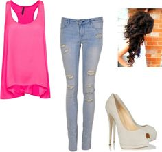 """""""Untitled #108"""" by meghanchcn on Polyvore super mega beyond cute outfit......can u pull it off??"""