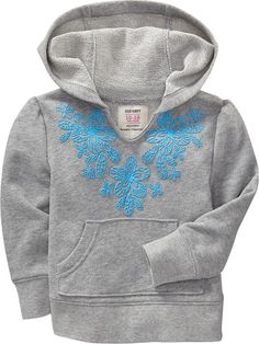 Old Navy | Floral-Yoke Hoodies for Baby