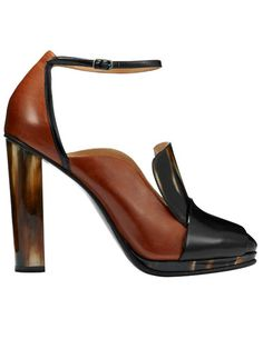 Dries Van Notes ankle-strap pump // The Extras: Natural Beauties & In the Buff