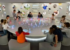 Nestlé exhibition area by Tinker Imagineers, Vevey – Switzerland » Retail Design…