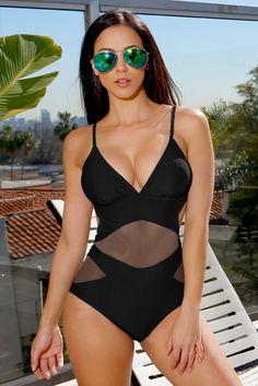 RESTOCK Ibiza Monokini Black - Fashion Effect Store - 2