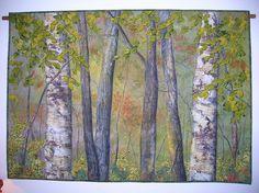 Birch trees by emmac350, via Flickr