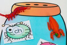 Free Printable Bugs Consonant Blends Activity