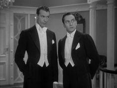 Gary Cooper & Fredric March