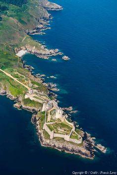 ✈️ Photo aérienne de : Fort La Latte - Côtes-d'Armor (22)