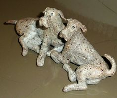 Ceramic Dogs by Wendy Hodgson