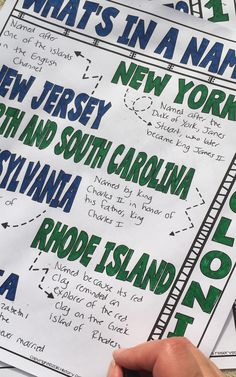 A fun way to learn how each of the 13 colonies got their names! This resource is sure to be a hit in your 4th, 5th, 6th, 7th, 8th, 9th, 10th, or 11th grade classroom or homeschool! Students will enjoy the hands-on, engaging note format! Upper elementary, middle school, and high school approved! $