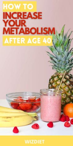 Getting older doesn't always need to cause a low metabolism. Do you want to improve your metabolism? If so, check out a metabolism boosting drink that can help increase your metabolism. #diet #metabolismbooster #metabolismboost #lowmetabolism #metabolismboostingdrink Fruit Smoothie Recipes, Yummy Smoothies, Smoothie Diet, Healthy Protein Shakes, Healthy Fats, Healthy Recipes, Fertility Smoothie, Fertility Diet, Very Low Calorie Foods