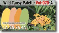 Wild Tansy Palette by Polymer Clay Tutor
