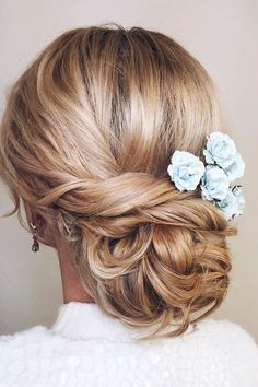 30 Enchanting Wedding Updos ❤ Have a mind about what kind of wedding hairstyle to choose? We offer for you wedding updos. They look great with different length of hair. See more: http://www.weddingforward.com/wedding-updos/