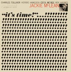 It's Time by Jackie McLean. Cover design by Reid Miles.