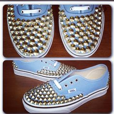 Studded Vans Shoes