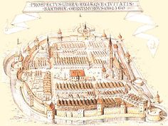 Historical sketch of Bardejov. Things I Want, To Go, Sketch, Husband, Places, Sketch Drawing, Sketches, Tekenen, Lugares