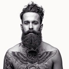 Epic mustache,beard