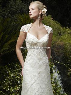 Casablanca Wedding Dresses - Style 1982SHR [1982SHR] - $1,125.00 : Wedding Dresses, Bridesmaid Dresses and Prom Dresses at BestBridalPrices.com