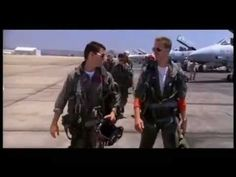 """▶ Top Gun Highway To The Danger zone - Ben thinks that this is """"our song."""" (insert Sara eye-roll)"""