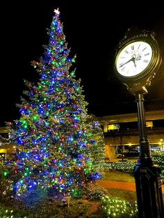 Village Christmas tree in Massapequa Park, New York. November 26, 2012.