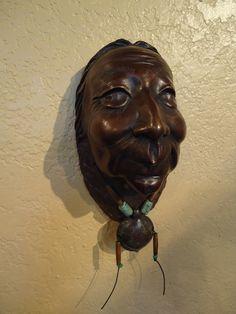 Turtle Clan Mother. Bronze Native American Sculpture