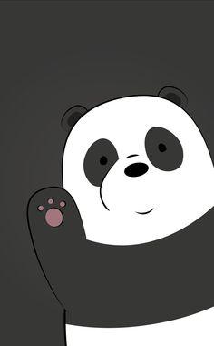Susy Cute Panda Wallpaper, Cute Tumblr Wallpaper, Bear Wallpaper, Emoji Wallpaper, Cute Wallpaper Backgrounds, Pretty Wallpapers, Wallpaper Iphone Cute, Future Wallpaper, We Bare Bears Wallpapers