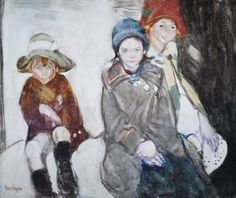 Refugee Children Francis Hodgkins