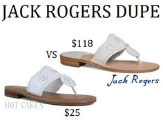 Hot Cakes \ Jack Rogers If you're like me then you're all about saving money. Who isn't really? When I first entered college I honestly didn't even know what Jack Rogers were but as soon as I saw everyone wearing them I knew I wanted a pair. Well that was until I saw the price. …