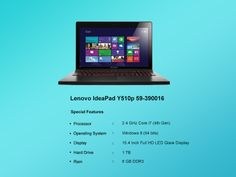 Check Out The Best Of Lenovo, The Ideapad y510p !