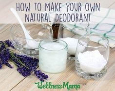 How to Make Natural Deodorant