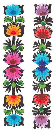 Bookmarks - Handcrafted Polish Folk Art, Set of 2