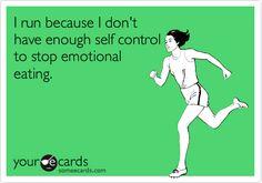 I run because...