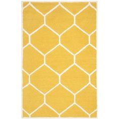 Koberec Lulu Yellow, 121 x 182 cm   Bonami