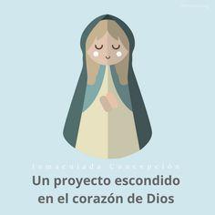Festividad de la #InmaculadaConcepción Un proyecto escondido en el corazón de Dios goo./l/U70lFb