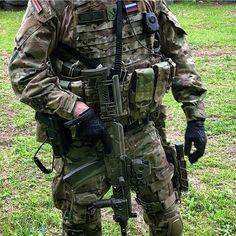 spetsnaz.alfaSpetsnaz FSB with his AKS-74U