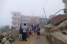 Gosainkund, Chisapani, Fassungslosigkeit nach dem Erdbeben