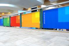 Microsoft Store Branding by Kyle Mcdonald, via Behance