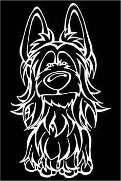 The Dog of the Day is the Silky Terrier.  Every Dog has its Decal! Show off your love for your Soulmutt with a Decal Dog Car Window Sticker. And bark loud and proud by personalizing it with your dog's name! #decaldogs #dogsofpinterest  #silkyterrier