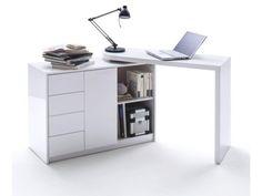 Pratique et fonctionnelle, ce bureau design fera de votre interieur une vraie reference en matiere de deco design. Son design epure, ainsi que ses formes simples et elegantes, sont en grande partie inspires par la nature. Ce bureau Max est compose d' un