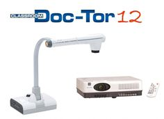 Document camera and short throw projector combo from ELMO.