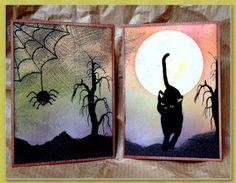 Kreatives Fusselchen: ATC's zum Halloween
